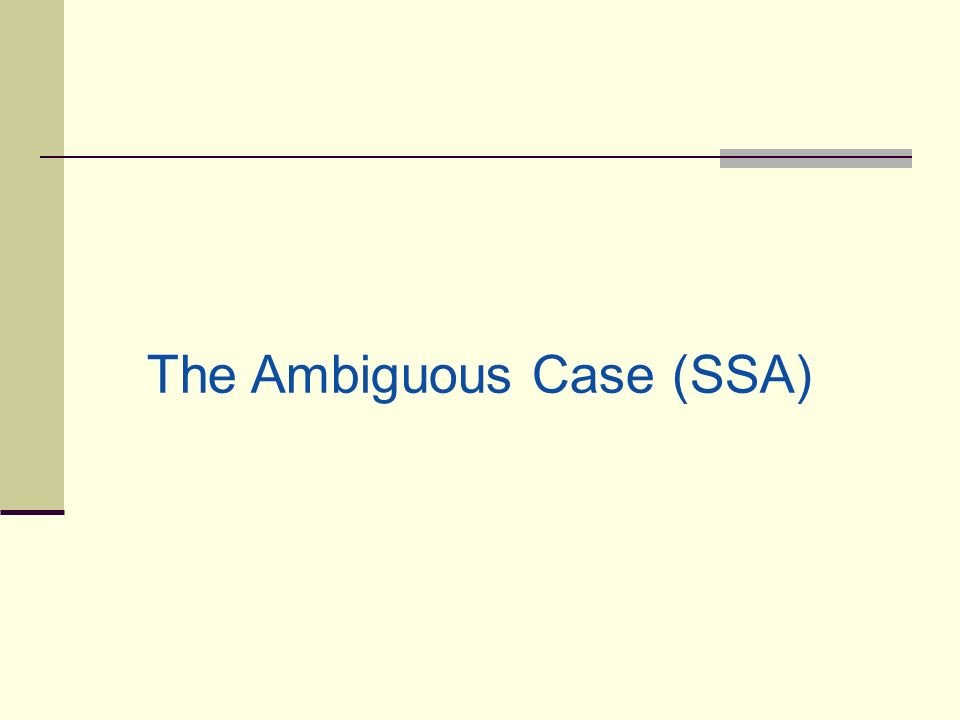 how to solve ambiguous case