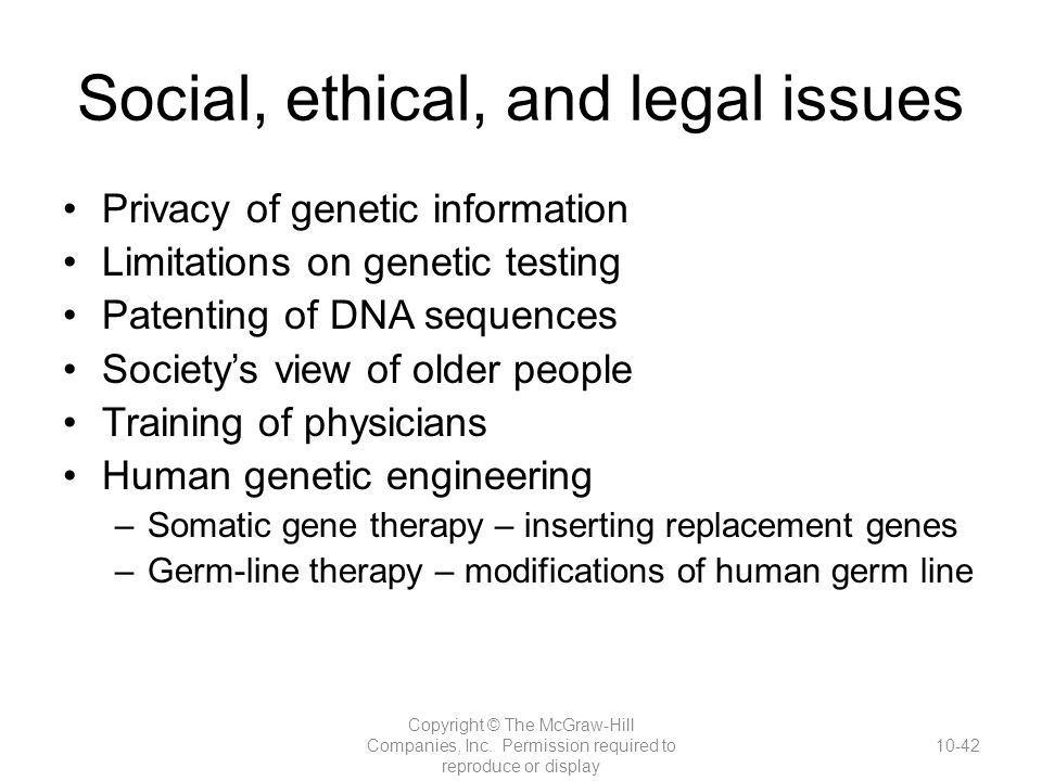 genetic testing and its social implications Social and ethical issues surrounding genetic testing  and social implications3 a unique aspect of  genetic testing creates situations where.