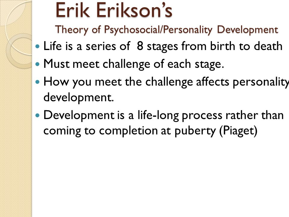 eriksons 8 stages