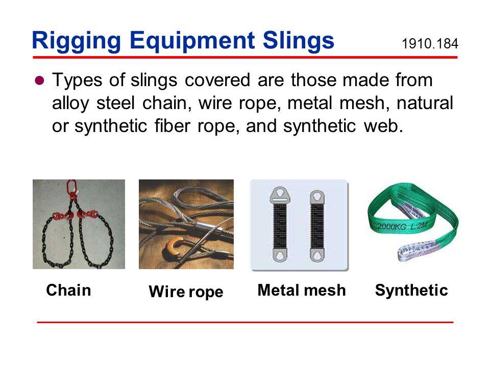Unique Osha Wire Rope Standards Image - Electrical Circuit Diagram ...