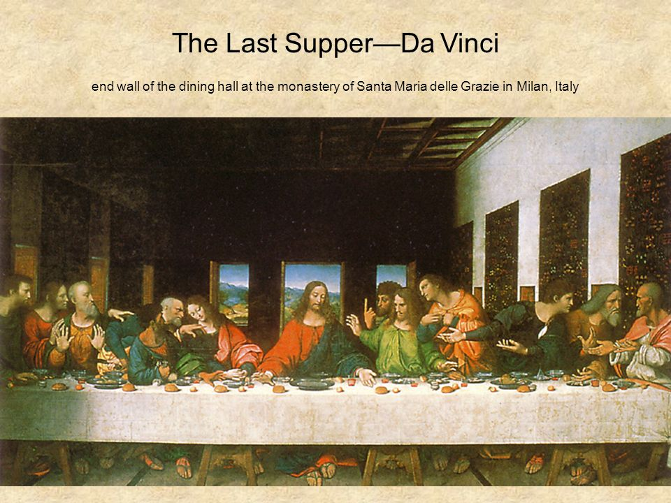 the last supper elements of design Elements of art (109) food (44) hope (4) design (156) drawing (142) environmental & land art (11) the last supper (1495-98.