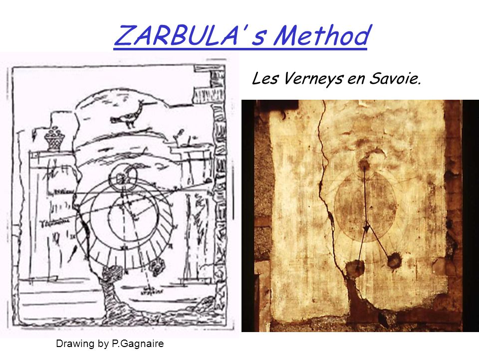 ZARBULA' s Method Les Verneys en Savoie. Drawing by P.Gagnaire
