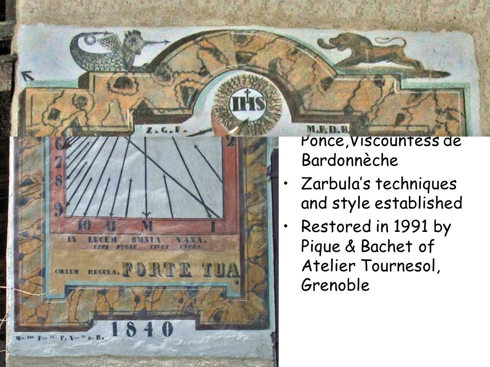 Vallouise 1840 Zarbula's breakthrough commission