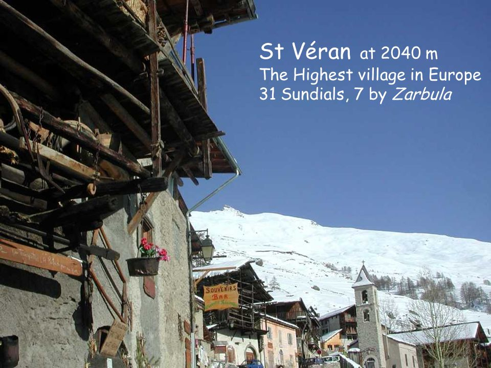 St Véran at 2040 m The Highest village in Europe