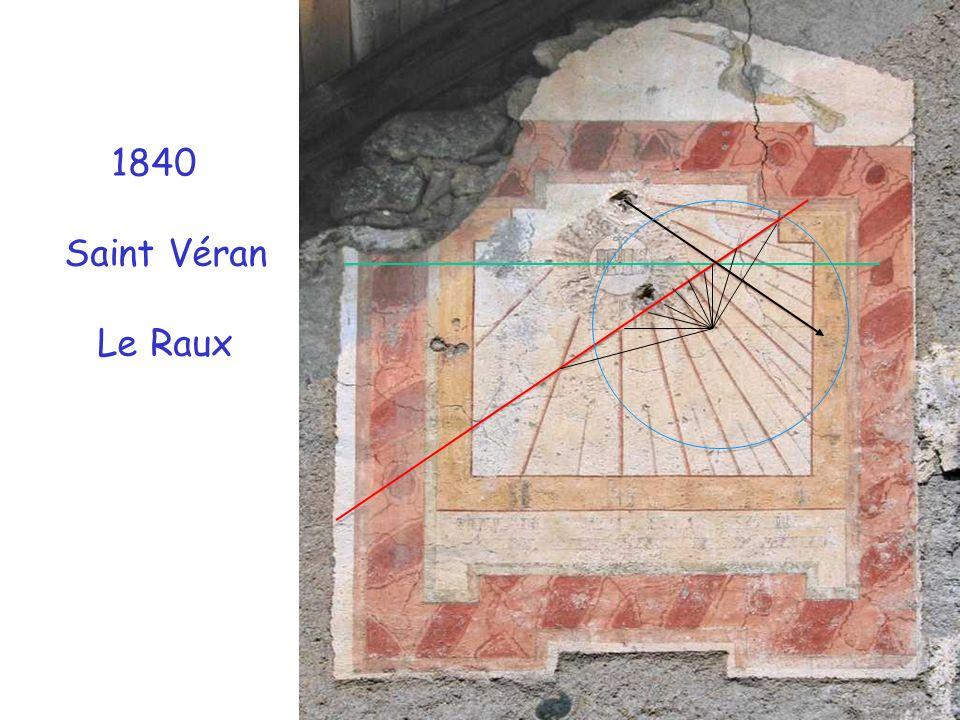 1840 Saint Véran Le Raux