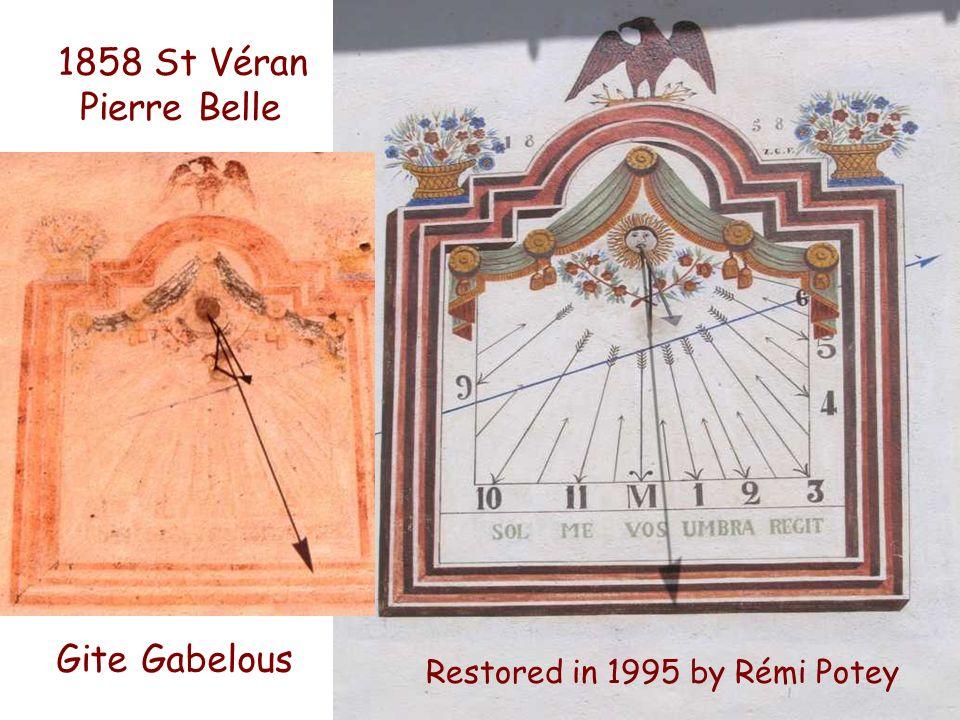 1858 St Véran Pierre Belle Gite Gabelous