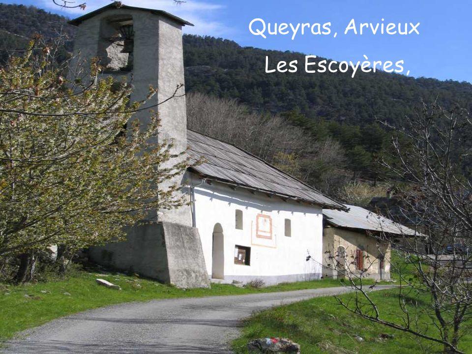 Queyras, Arvieux Les Escoyères,