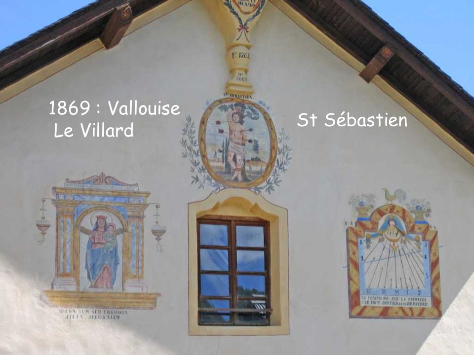 1869 : Vallouise Le Villard St Sébastien 1869 : Vallouise Le Villard St Sébastien