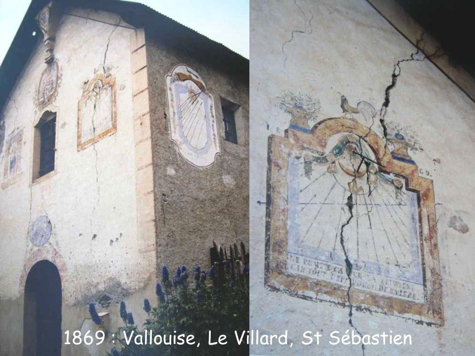 1869 : Vallouise, Le Villard, St Sébastien