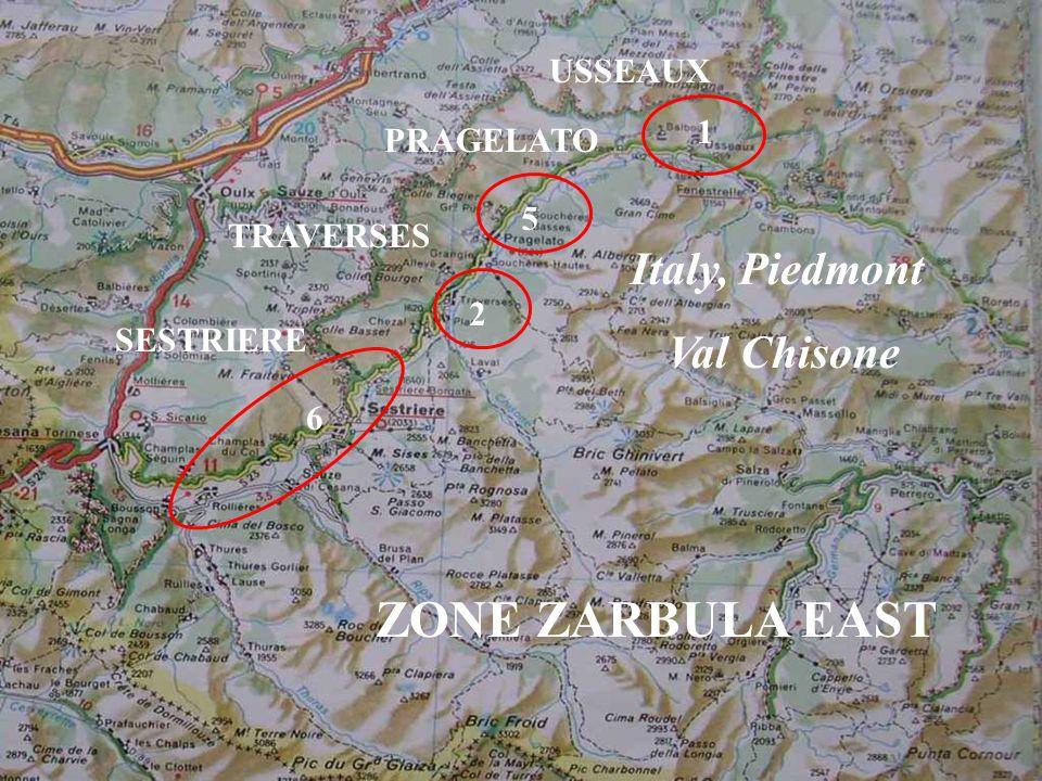 ZONE ZARBULA EAST Italy, Piedmont Val Chisone USSEAUX 1 PRAGELATO 5
