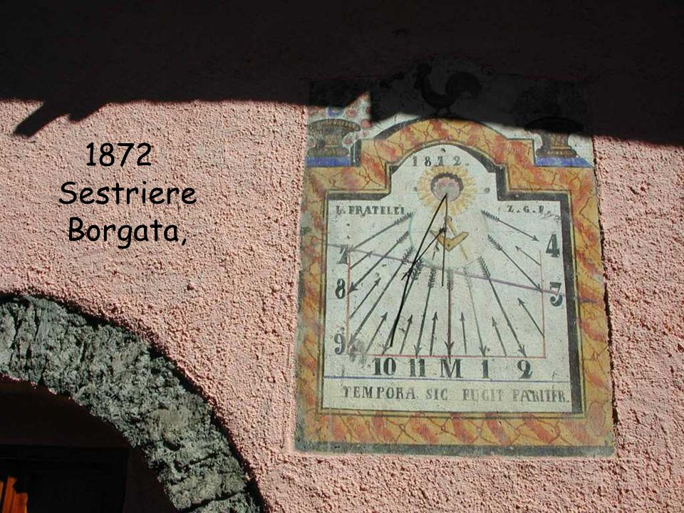 1872 Sestriere Borgata,