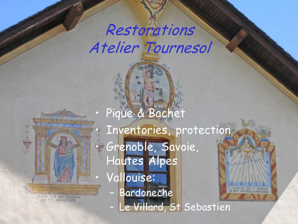 Restorations Atelier Tournesol