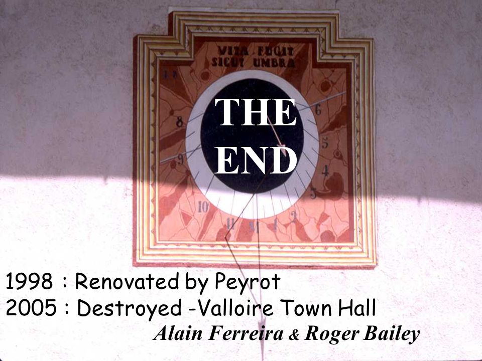 THE END 1998 : Renovated by Peyrot