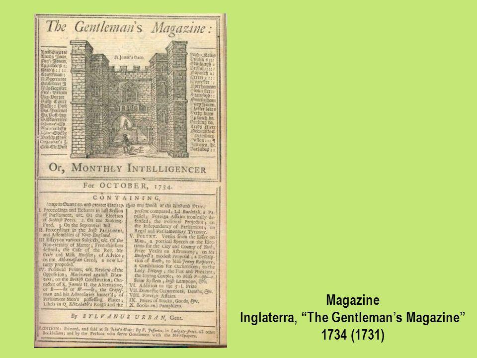 Inglaterra, The Gentleman's Magazine