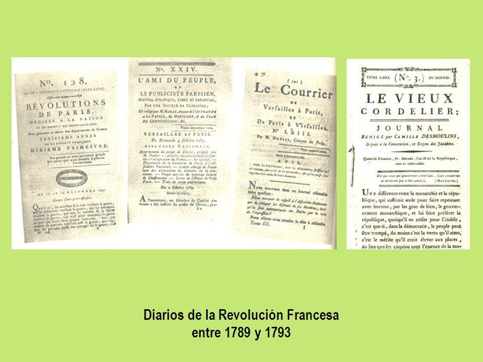 Diarios de la Revolución Francesa
