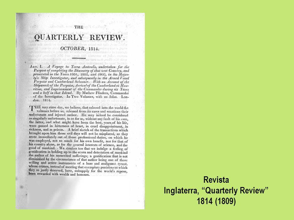 Inglaterra, Quarterly Review