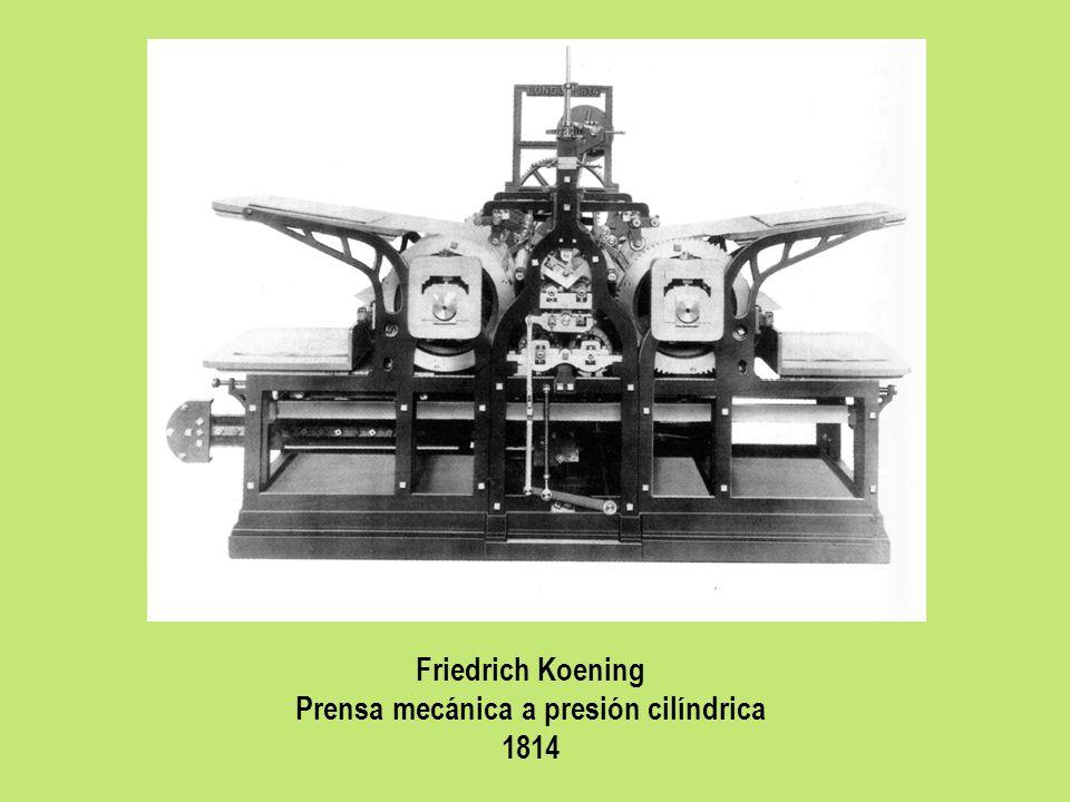 Prensa mecánica a presión cilíndrica