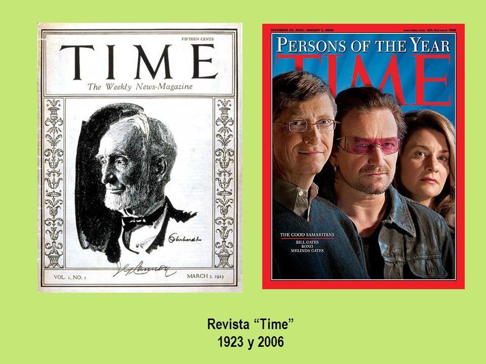 Revista Time 1923 y 2006