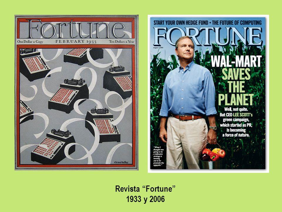 Revista Fortune 1933 y 2006