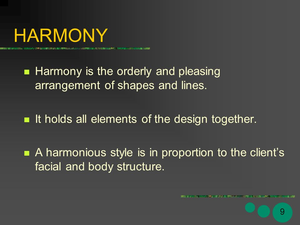 All Elements Of Design : Milady s standard cosmetology principles of hair design