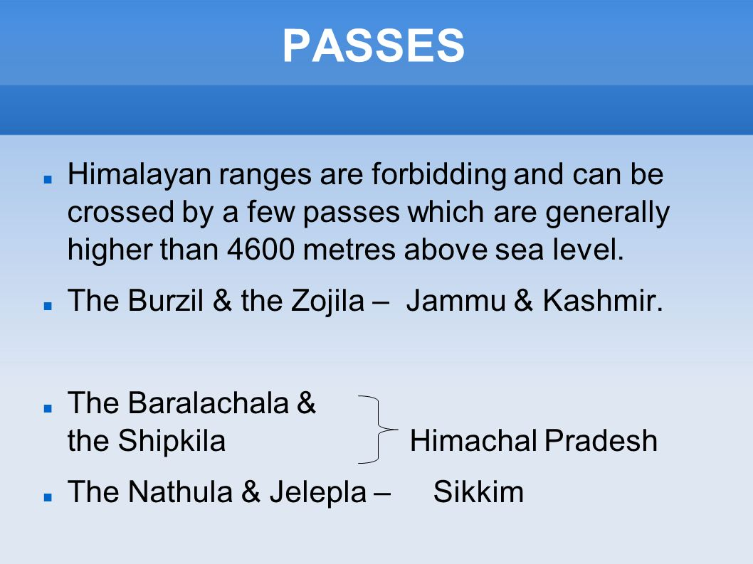 PHYSICAL FEATURES OF INDIA Ppt Video Online Download - Metres above sea level