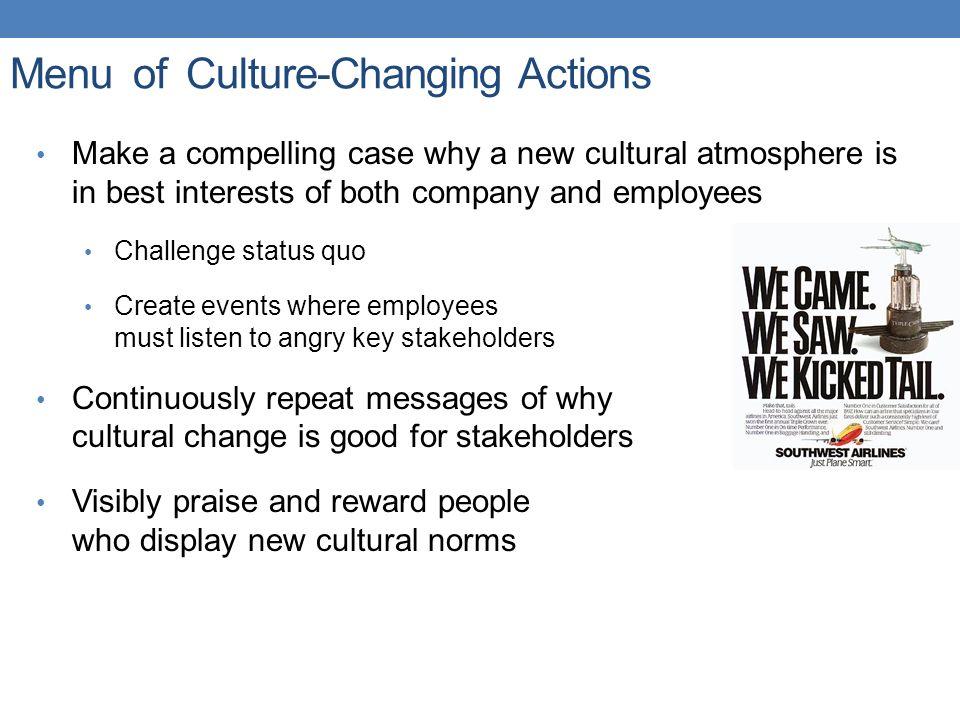 cultural change company