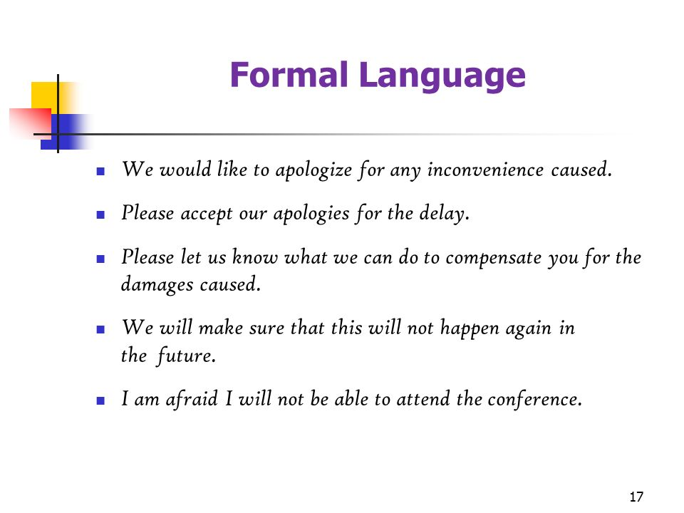 formal and informal s the basics