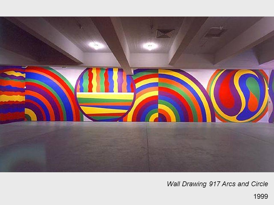 Wall Drawing 917 Arcs and Circle