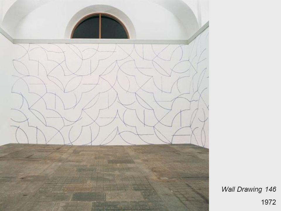 Wall Drawing 146 1972