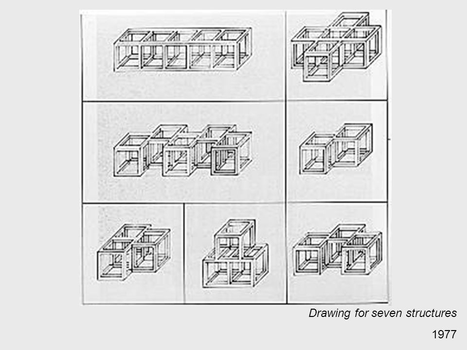 Drawing for seven structures