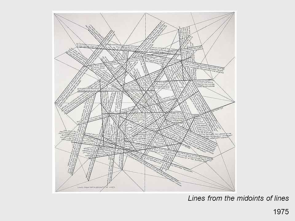 Lines from the midoints of lines