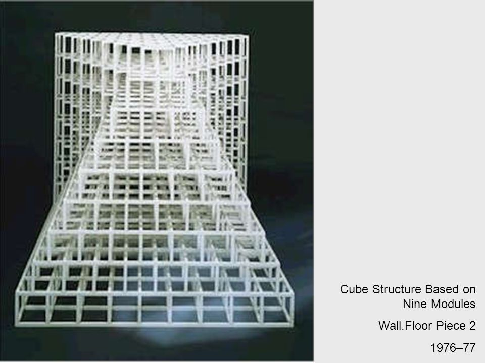 Cube Structure Based on Nine Modules