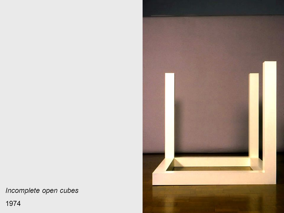 Incomplete open cubes 1974