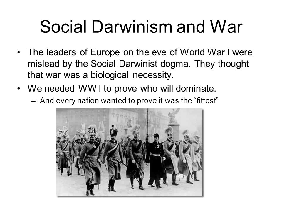the definition of social darwinism in many different people Although liberals also drew on darwinism, they did so in a very different spirit social darwinism and the poor social welfare history project.