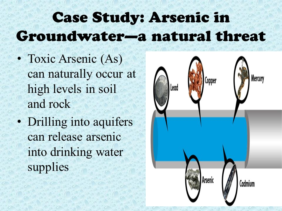a study of the effects of mercury and arsenic toxicity Clinical effects of arsenic toxicity depend on the  in a small pilot study of  pollack cv jr heavy metal toxicity, part i: arsenic and mercury.