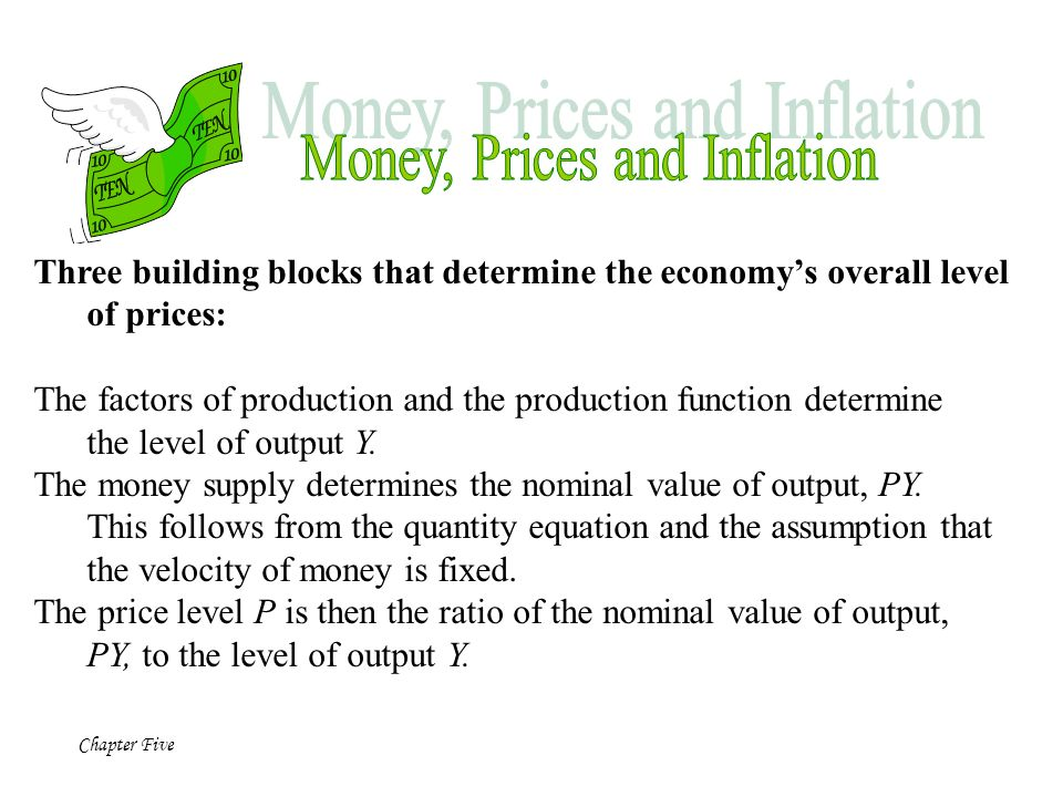chapter 8 money the price level and inflation relationship