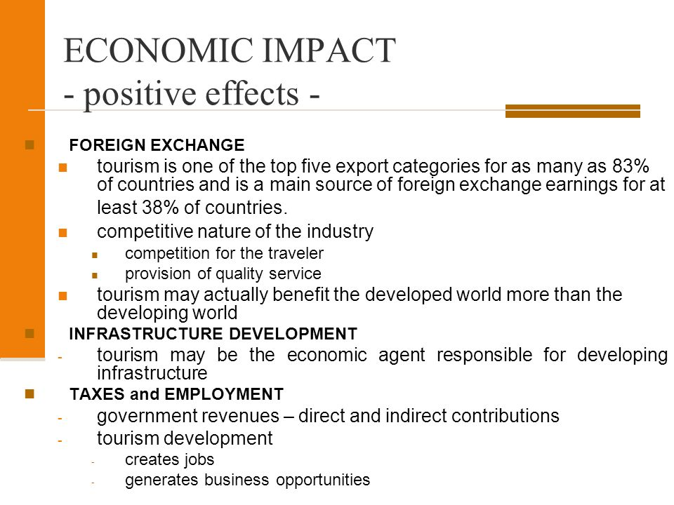 economic and employment impacts of tourism Caribbean tourism and development: an overview  411 economic impacts  caribbean tourism and development: an overview / discussion paper no 65 2.