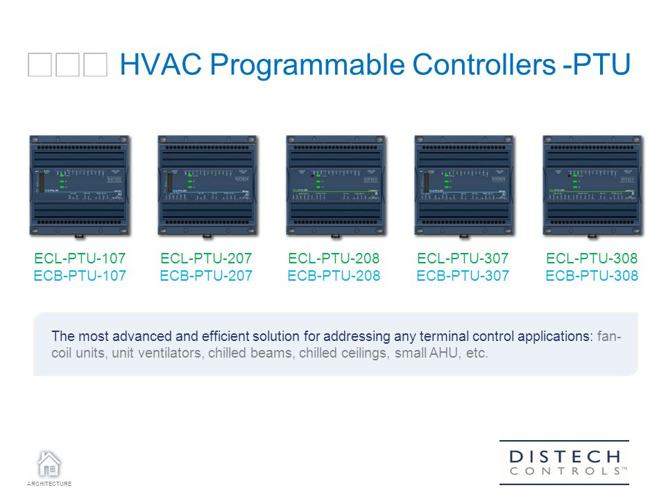 Hvac Programmable Controllers Ptu Ppt Download