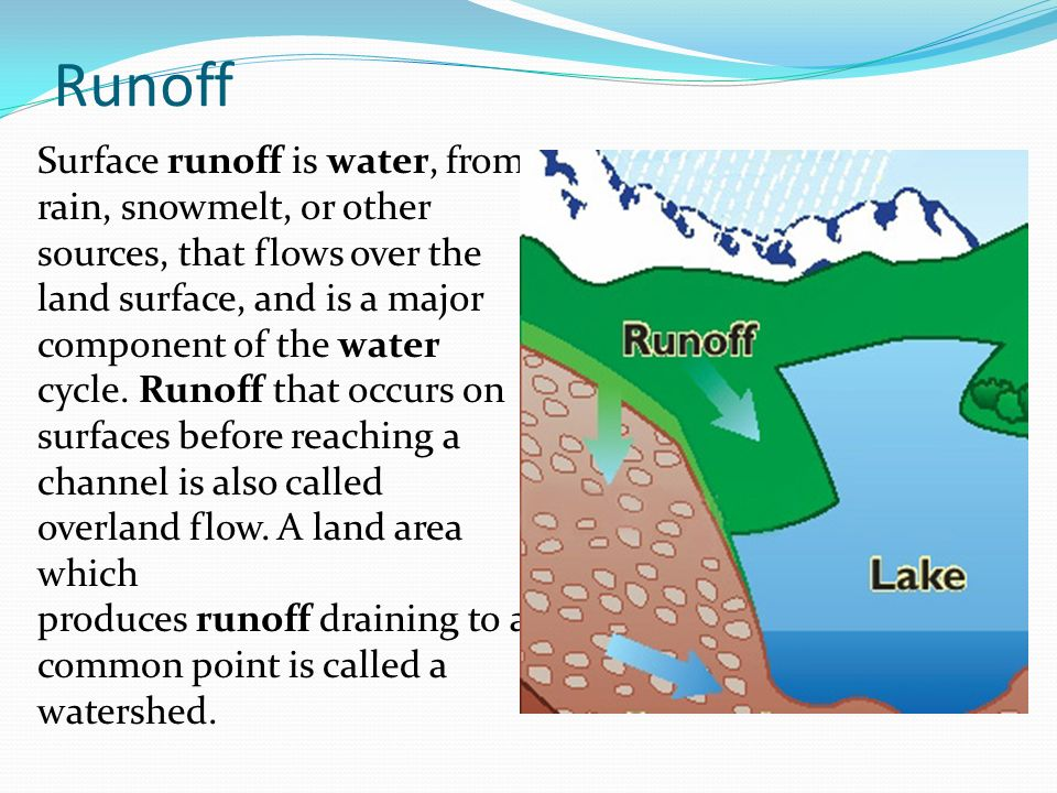 surface runoff Chapter 2 - stormwater section 2b-4 - runoff and peak flow 3 revised: 2013 edition f studies and experience have shown that the rational method tends to underestimate runoff.