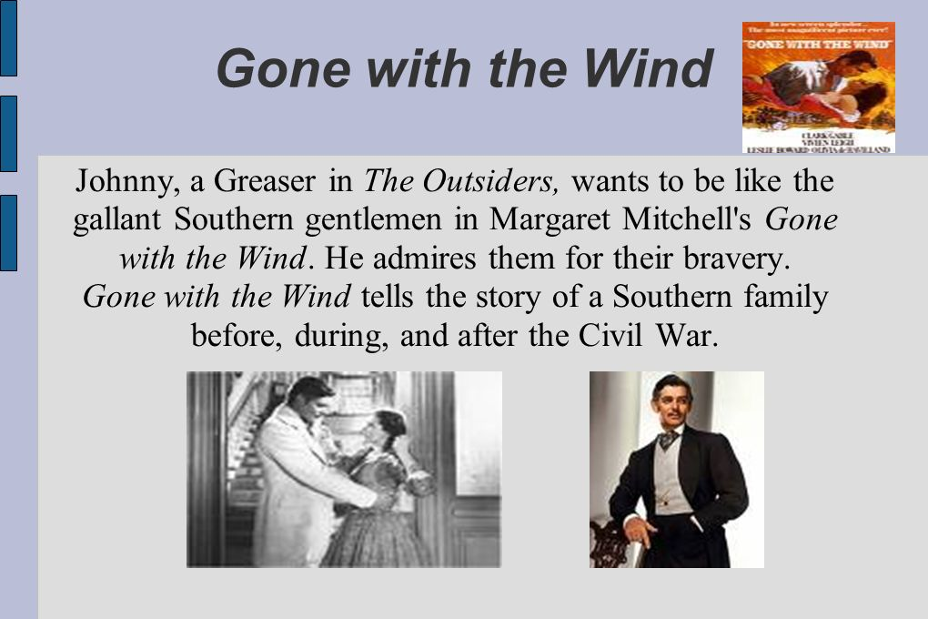 Book: Gone With The Wind