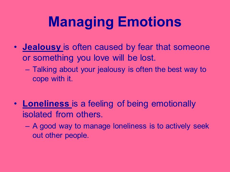 Feelings and Emotions: The Essay, Part Four, Appropriate Expression
