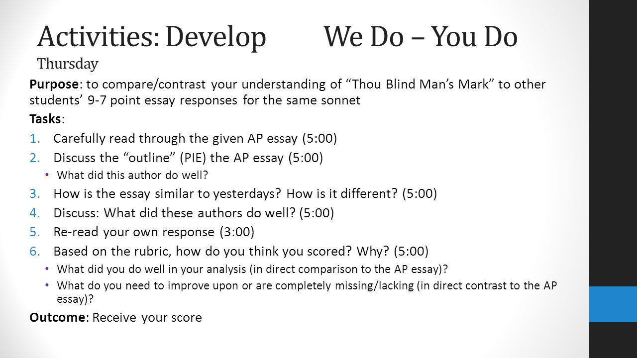 thou blind mans mark Search results for: thou blind man s mark thesis proposal click here for more information.