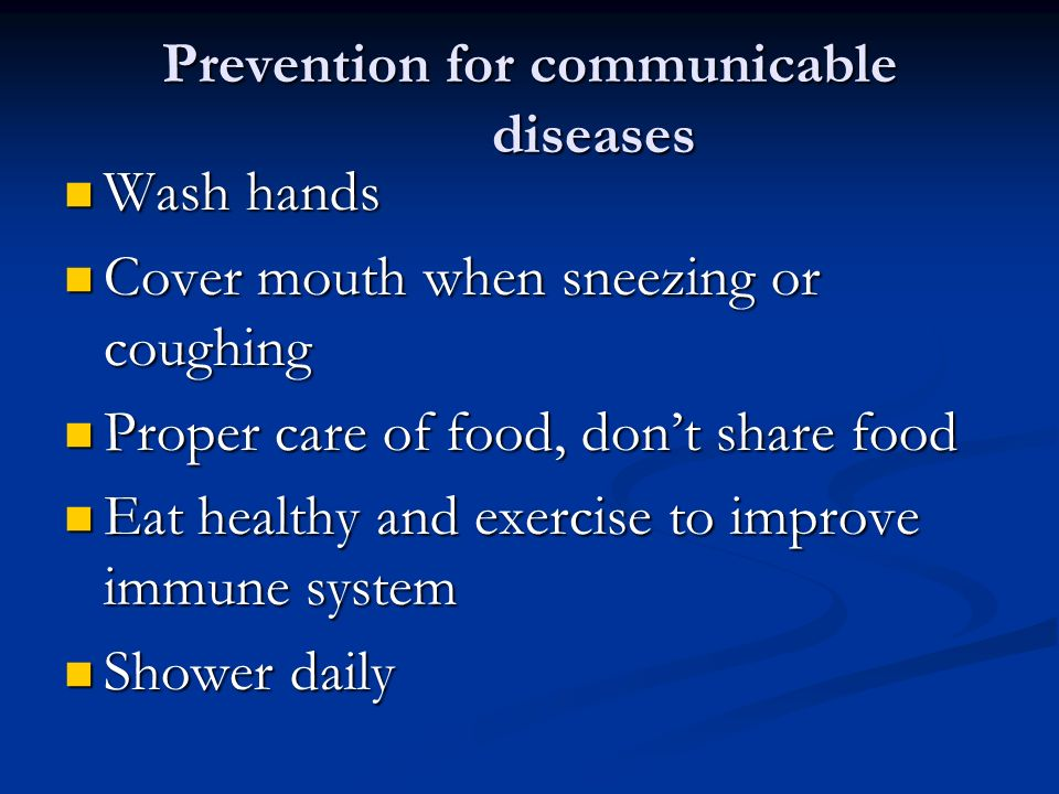 Communicable and Non-communicable Diseases - ppt video ...