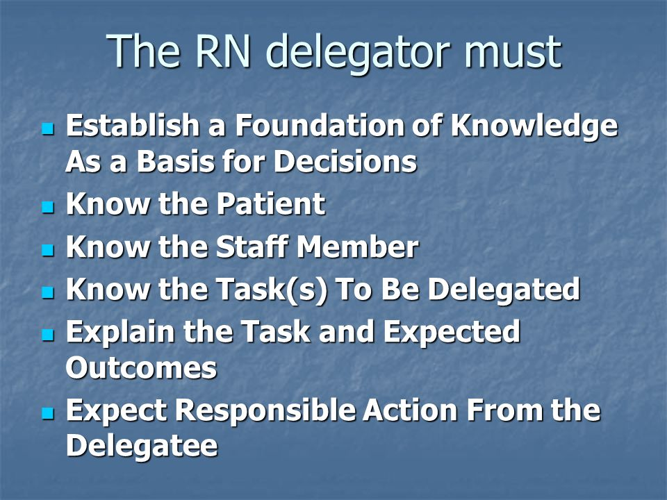 delegation delegate and staff member Knowing when to delegate a task to qualified research staff isn't always straightforward learn why navigating the gray areas of delegation of authority.