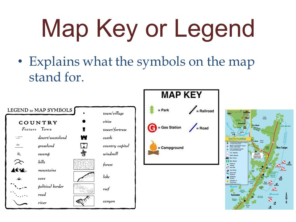 Maps Keys and Legends  ppt video online download