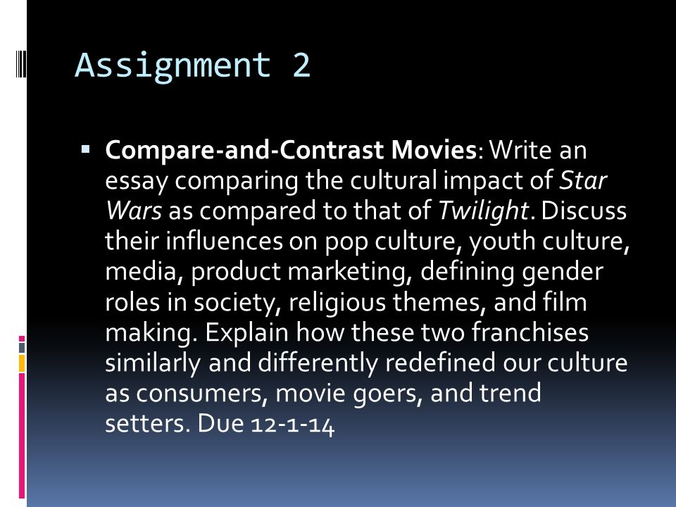 comparison and contrast ppt  31 assignment