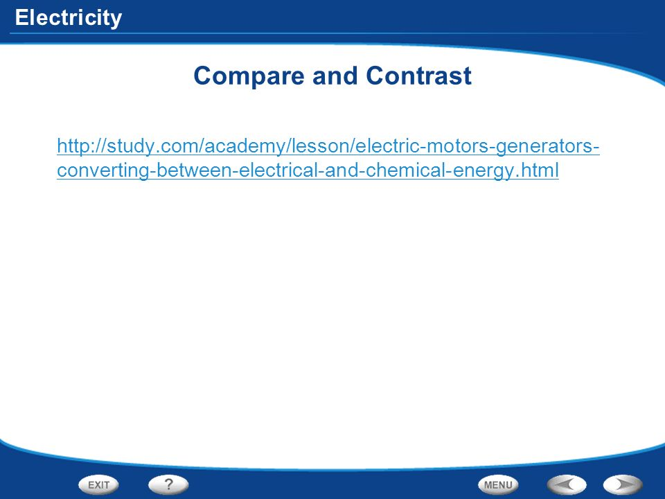 Electricity And Magnetism Compare And Contrast