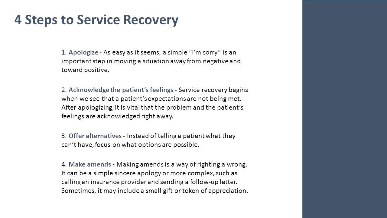 lesson 4 customer service