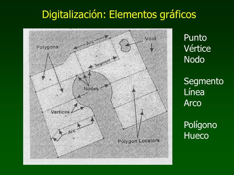 Digitalización: Elementos gráficos