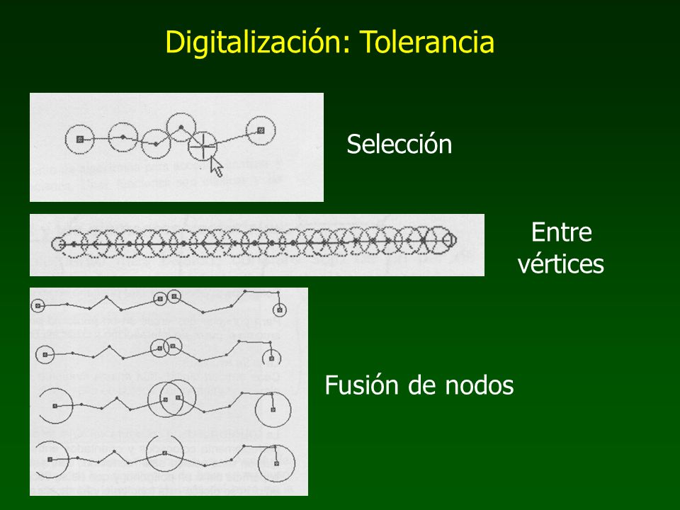 Digitalización: Tolerancia